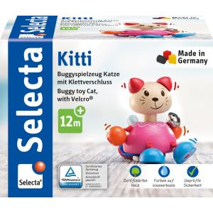 Kitti Buggyspielzeug mit Klettverschluss