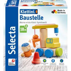 Klettini® Baustelle, Klett-Stapelspielzeug