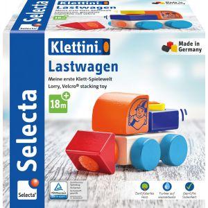 Klettini® Lastwagen, Klett-Stapelspielzeug