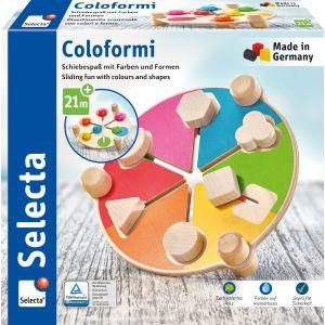 Coloformi, Schiebespaß mit Farben und Formen, 19,5 cm